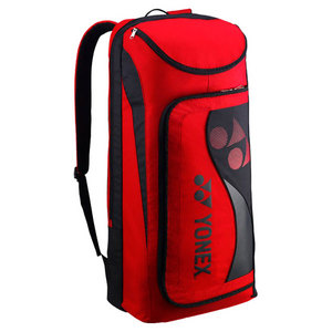 YONEX TOURNAMENT NINE PACK TENNIS BAG RED