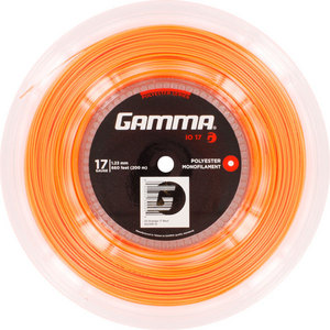 GAMMA IO 17G TENNIS STRING REEL ORANGE