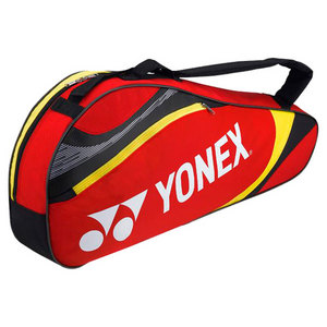 YONEX TOURNAMENT TRIPLE TENNIS BAG RED