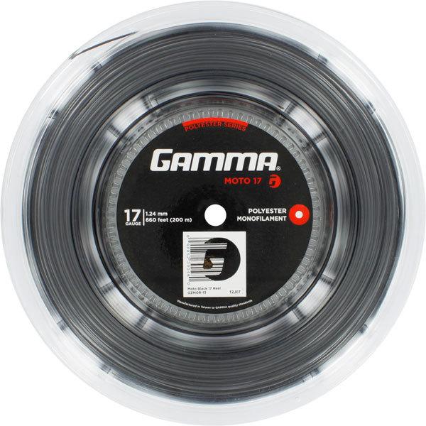 Moto 17g Tennis String Reel Black