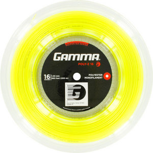 Poly Z 16G Tennis String Reel Optic Yellow