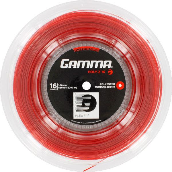 Poly Z 16g Tennis String Reel Red
