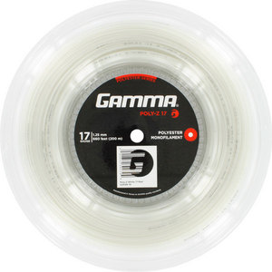 Poly Z 17G Tennis String Reel White