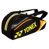 YONEX Tournament Six Pack Tennis Bag Black/Yellow