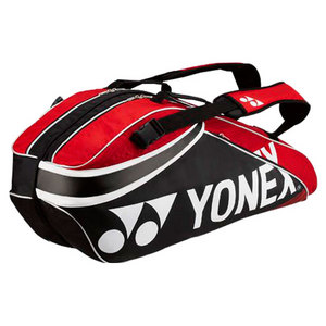 YONEX PRO SIX PACK TENNIS BAG RED/BLACK