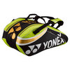 YONEX Pro Nine Pack Tennis Bag Lime Green/Black