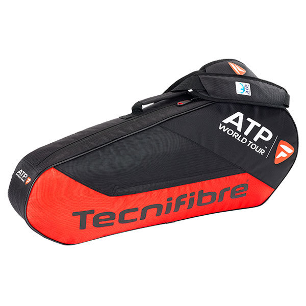 Team Atp 3r Tennis Bag Black/Red