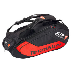 TECNIFIBRE TEAM ATP 12R TENNIS BAG BLACK/RED