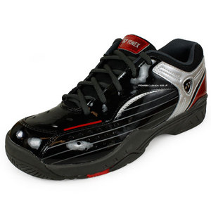 YONEX JUNIORS POWER CUSHION 308 SHOES BK/RED