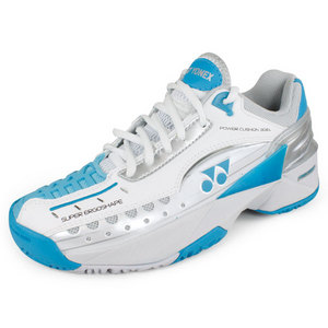 YONEX WOMENS POWER CUSHION 308L SHOES WH/BL