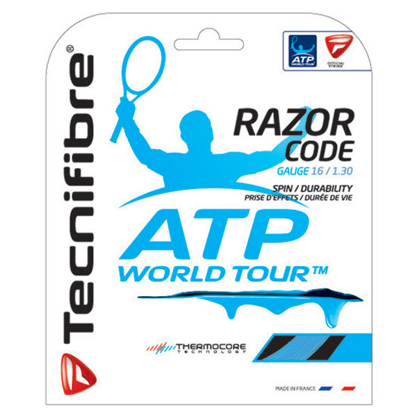Atp Razor Code 1.30mm/16g Tennis String Blue