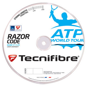 ATP Razor Code 1.25MM/17G Tennis String Reel Carbon