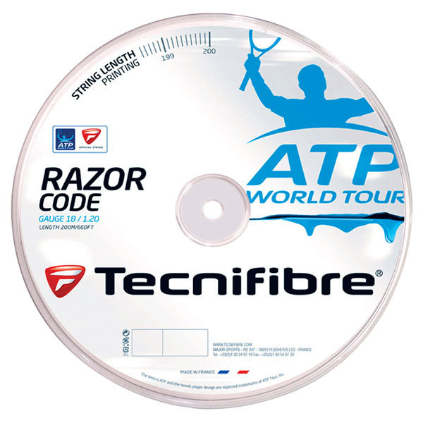 Atp Razor Code 1.20mm/18g Tennis String Reel Blue