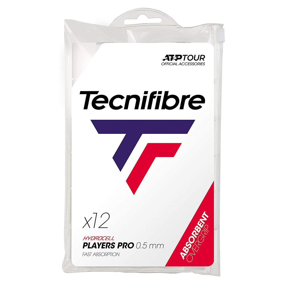 Pro Players Tennis Overgrip 12 Pack White