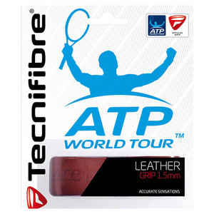 Leather Replacement Tennis Grip Chestnut