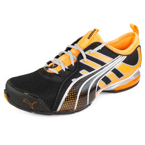 PUMA MENS VOLTAIC 4 M SPORT SHOES BK/ORANGE