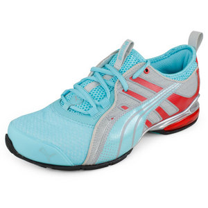 PUMA WOMENS VOLTAIC 4 MT RUNNING SHOES BLUE