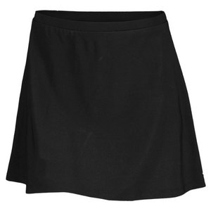 ELIZA AUDLEY WOMENS FLAIR TENNIS SKORT BLACK