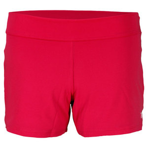 WILSON GIRLS SWEET SPOT TENNIS SHORT PINK/WH