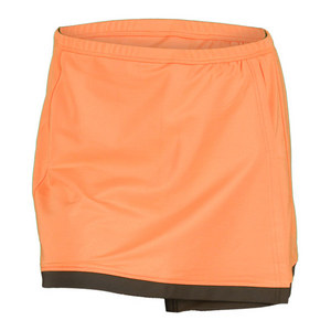 BOLLE WOMENS TUSCAN SUN TENNIS SKORT ORANGE