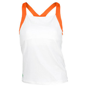 POLO RALPH LAUREN WOMENS ELITE SMASH TENNIS TANK WHITE