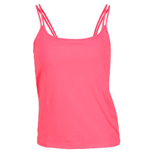 POLO RALPH LAUREN WOMENS TOURNAMENT DEUCE TENNIS TANK PINK