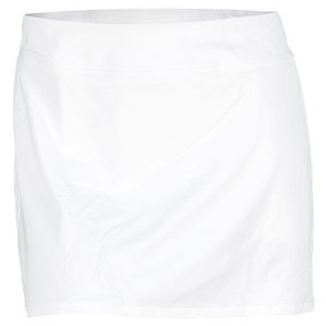 POLO RALPH LAUREN WOMENS ELITE RACQUET TENNIS SKORT WHITE