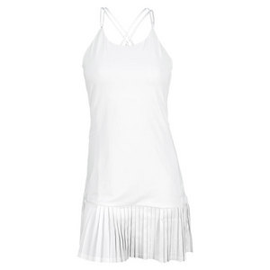 POLO RALPH LAUREN WOMENS ELITE ADVANTAGE TENNIS DRESS WHT