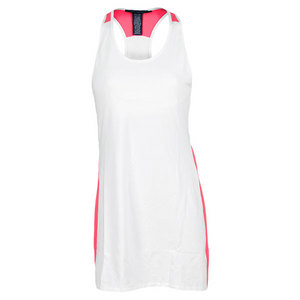 POLO RALPH LAUREN WOMENS ELITE RACER TENNIS DRESS WHITE