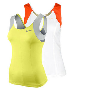 NIKE WOMENS PRINCESS KNIT TENNIS TANK