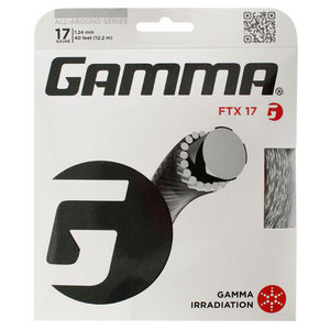 GAMMA FTX 17G TENNIS STRING BLACK