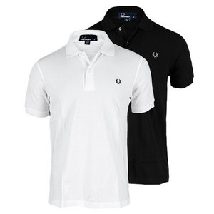 FRED PERRY MENS SOLID TENNIS POLO