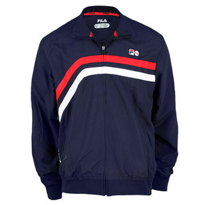 FILA MENS HERITAGE TENNIS JACKET PEACOAT