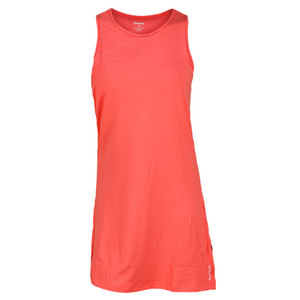 REEBOK WOMENS SE OUTACED TENNIS DRESS CORAL