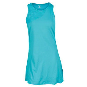 REEBOK WOMENS SE OUTACED TENNIS DRESS TEAL