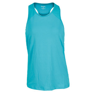 REEBOK WOMENS SE QUEST LONG BRA TOP TEAL