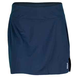 REEBOK WOMENS PLAYDRY VICTORY SKIRT NAVY