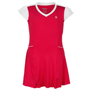 WILSON GIRLS SWEET SUCCESS TENNIS DRESS PINK