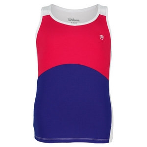 WILSON GIRLS SWEET SUCCESS TENNIS TANK PK/INK
