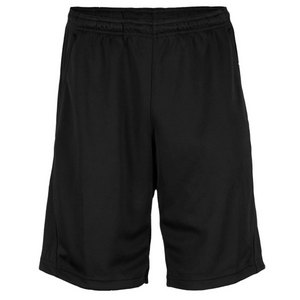 REEBOK MENS TRAINING KNIT TENNIS SHORT BLACK