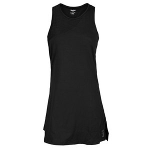 REEBOK WOMENS SE OUTACED TENNIS DRESS BLACK