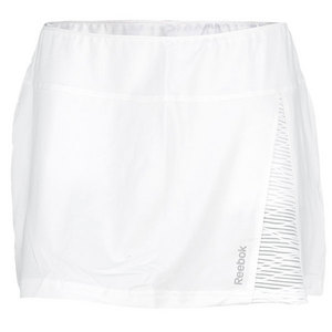 REEBOK WOMENS SE QUEST TENNIS SKIRT WHITE