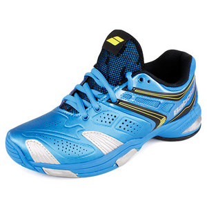 BABOLAT JUNIORS V PRO 2 TENNIS SHOES BLUE/YELLOW