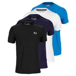 UNDER ARMOUR MENS COLDBLACK SHORT SLEEVE TENNIS TEE