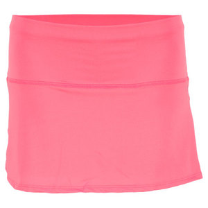 LUCKY IN LOVE GIRLS BACK PLEAT TENNIS SKORT PINK