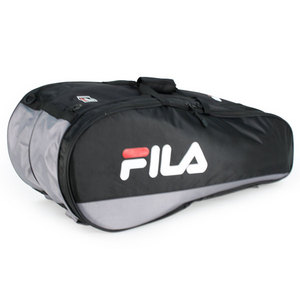 FILA TENNIS RACQUET BAG BLACK/GREY