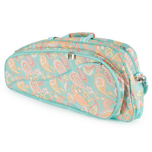 ALL FOR COLOR PAISLEY BREEZE 2 PACK TENNIS BAG