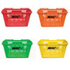 ONCOURT OFFCOURT MultiCart 100 Ball Capacity MultiColor Baskets