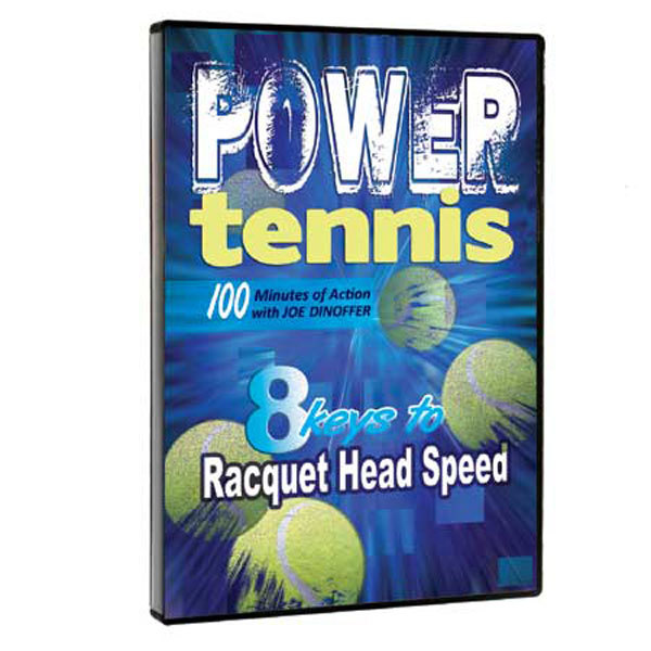 Power Tennis DVD The Oncourt offcourt Power Tennis DVD covers 8 keys to racquet head speed These ideas are ingredients needed to develop a more powerful and effective tennis game whether you are a player or a coach Learn about the dwell time of a ball on strings how to co