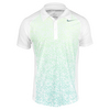 NIKE Men`s Advantage UV Graphic Tennis Polo White